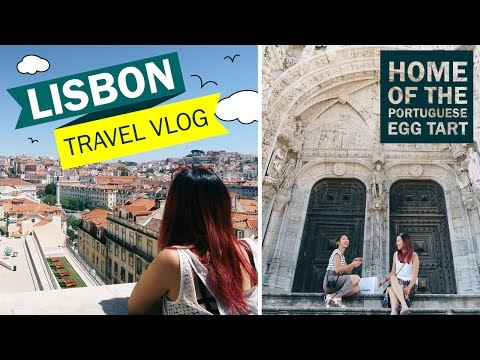 EUROPE TRAVEL VLOG #7: Lisbon - Best Portuguese Egg Tarts EV