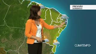 Previsão Nordeste – Chuva volumosa pelo litoral