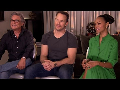'Guardians of the Galaxy Vol. 2' cast on getting into character, being parents