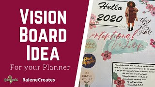 """Write the Vision"" Vision Board Event with RaleneSpeaks"