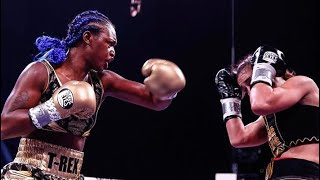 Claressa Shields DOMINATES Ivana Habazin to become FASTEST 3 weight world champion in HISTORY!