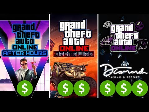 GTA Online Casino DLC Update - HOW MUCH WILL THE TOTAL COST BE? After Hours Vs Arena War Vs Casino
