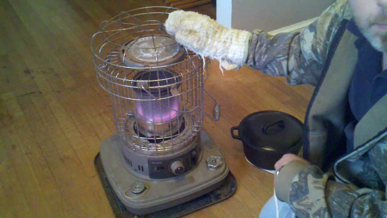 how to make a kerosene heater