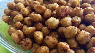 Нутовые орешки. Вкусное и полезное лакомство из нута.