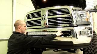 "Installation Of A 30"" Bulldog Lighting Led Lightbar On 2012 Dodge Ram 3500"