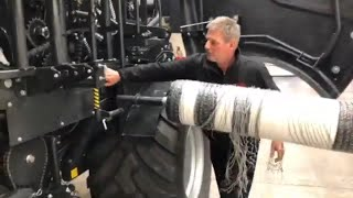 Vicon FastBale - How to change rolls of net