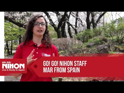 Meet Go! Go! Nihon's staff : Mar from Spain