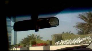 Entrance to the Burj Al Arab Dubai UAE - Part I