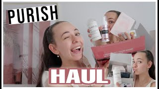 PURISH Haul w/ -20% discount code - OLAPLEX, Loving Tan, The Ordinary...