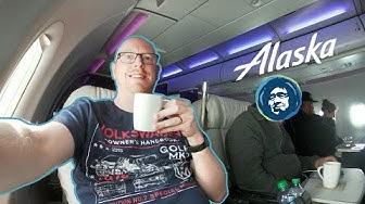 FANTASTIC! Alaska Airlines First Class!