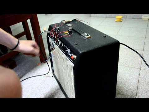 Footswitch Fender SPXD DIY - YouTube