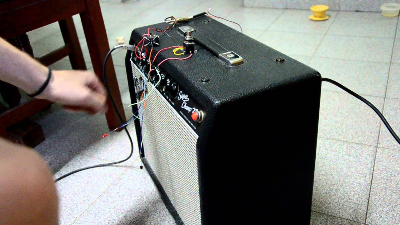 Footswitch Fender Spxd Diy