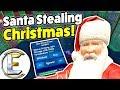 Santa Stealing Christmas Gmod DarkRP Life Bad Santa Takes EXPENSIVE Money Printers mp3