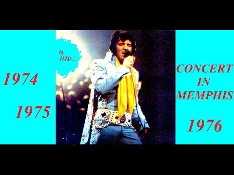 33 Les inédits d'Elvis Presley by JMD, ALTERNATE CONCERT IN MEMPHIS de 1974 à 1976, épisode 33 !