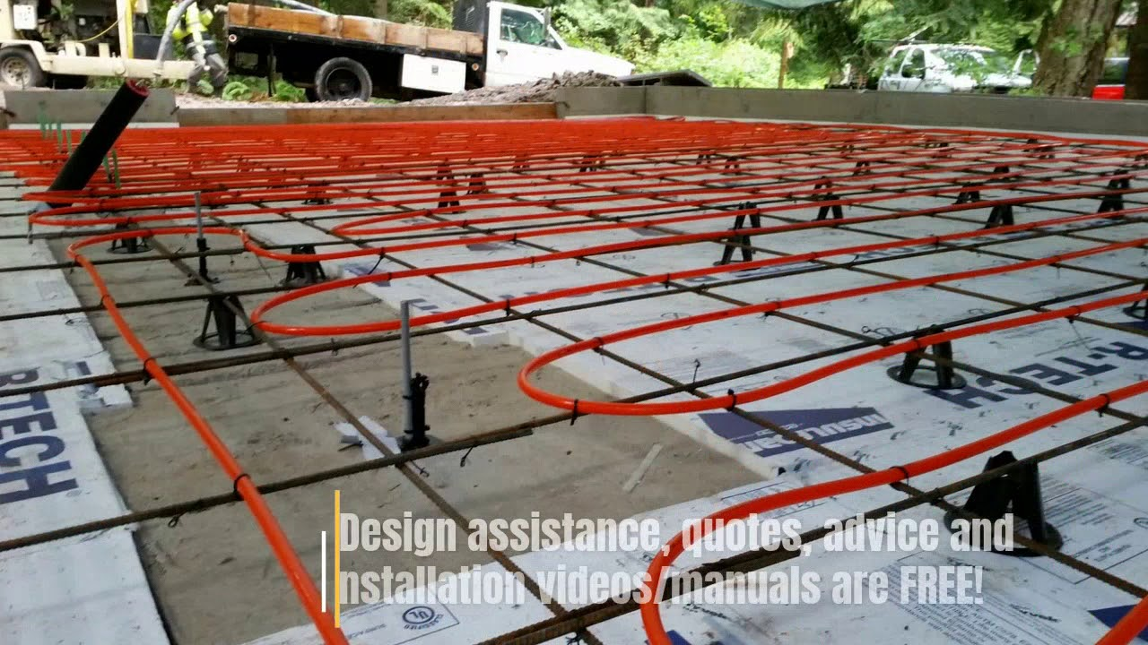 Diy Concrete Slab Radiant Heat By