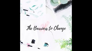 The  Barriers to Change VLOG