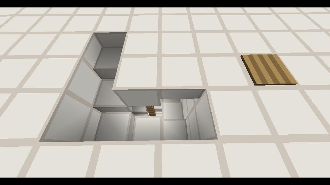 Minecraft 3x3 Hidden Amp Seamless Spiral Staircase Youtube