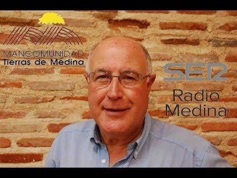 Alfonso Hernández Martín, Presidente Mancomunidad Tierras de Medina en Radio Medina Cadena SER