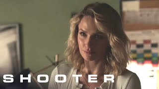 Shooter Season 3 Episode 6: Is Bama Sr. Apologizing Or Making A Threat? | Shooter on USA Network