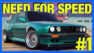 Need for Speed HEAT Let's Play : First Car & Garage!! (Part 1)