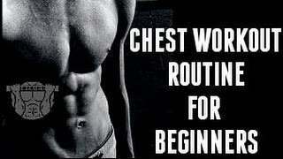 Beginners Chest Workout Routine - Best Bodyweight Exercises For Chest