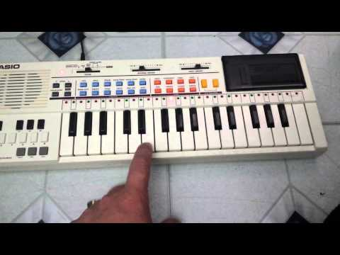 Casio PT-80 Electronic Keyboard Musical Instrument