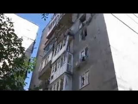 Ukraine war: Terrorists hit the apartment house in Donetsk Donbas CTO zone