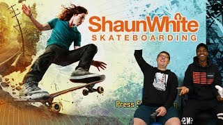 We TRY Playing Shaun White Skateboarding For The 360!!!
