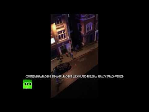 London Bridge attack: Gunshots heard as...