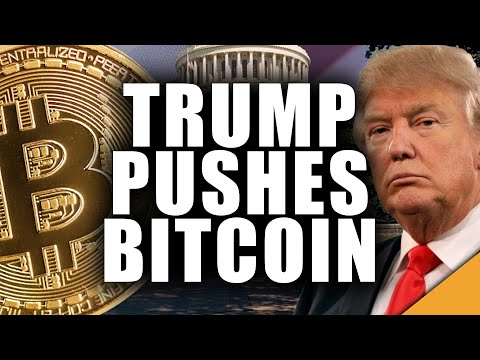 Trump Advertises Bitcoin: Why Bitcoin Could Blast Off