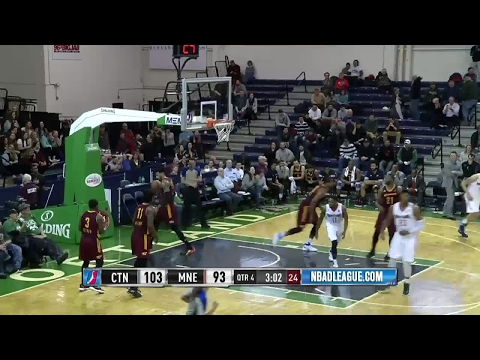Jordan Mickey posts 20 points & 11 rebounds vs. the Charge