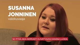 VALMAn kautta ammattilaiseksi - Valokuvaaja Susannan tarina