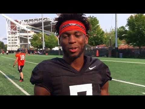 Oregon State linebacker Kee Whetzel talks about the pass rush