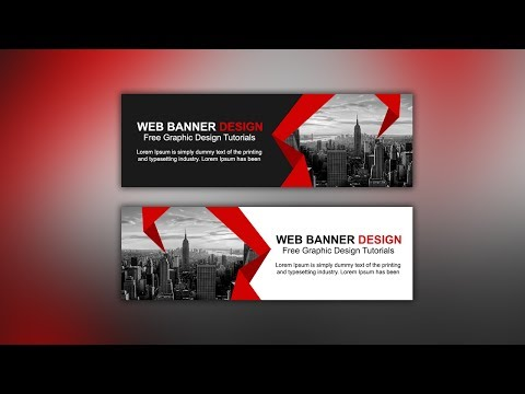 Web Banner AD Design Tutorial - Photoshop CC