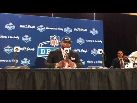 A'Shawn Robinson Seattle Seahawks NFL Draft 2nd Round Pick Interview #NFLDraft