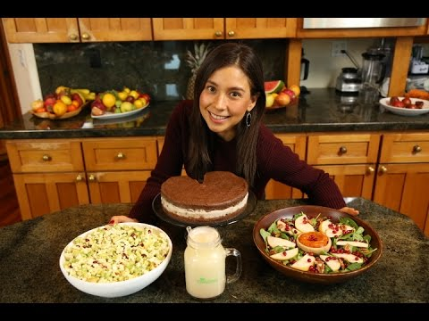 Raw vegan thanksgiving dinner youtube forumfinder Gallery