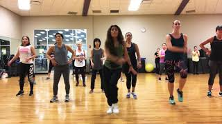 Mi gente by J Balvin Zumba Fitness choreography