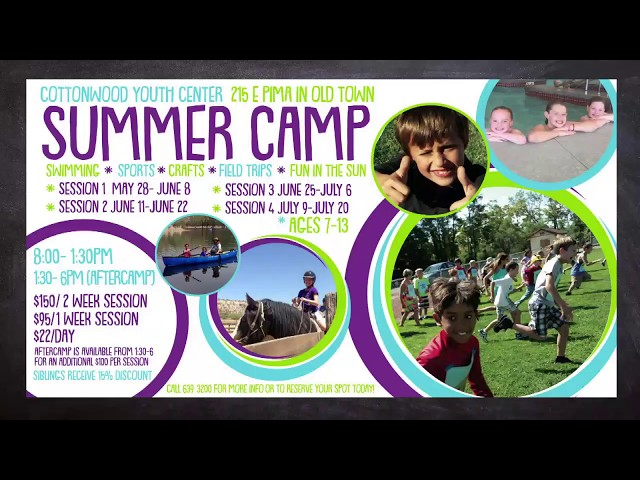 Inside Cottonwood June 2018 Summer Camp