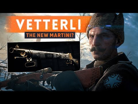 ► THE VETTERLI RIFLE IS THE NEW MARTINI-HENRY! - Battlefield 1