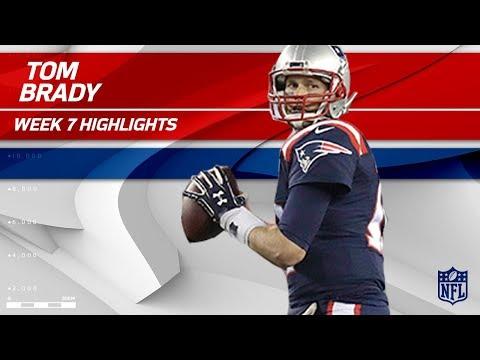 Tom Brady Puts On a Clinic Against Atlanta!   Falcons vs. Patriots   Wk 7 Player Highlights