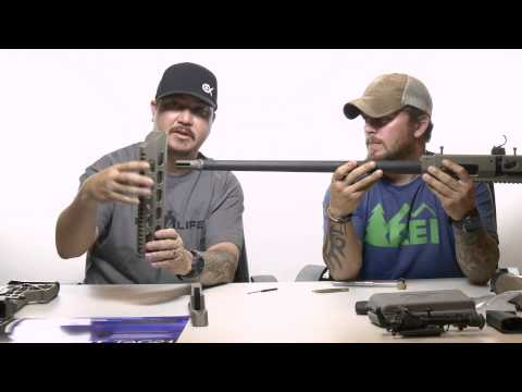 MDT Tac 21 Chassis System for Remington 700 short action - Installation