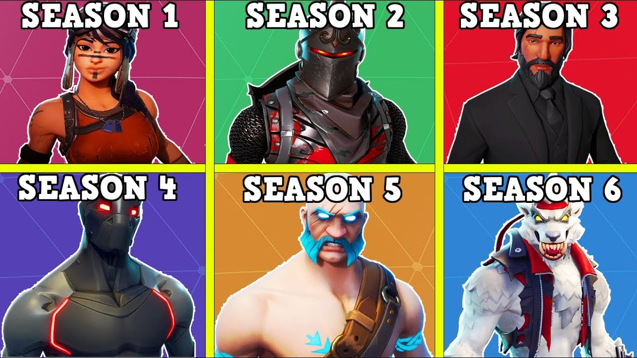 Fortnite Season 6 How To Complete Every Season 6: RANKING EVERY SEASON FROM WORST TO BEST! (SEASON 2-6