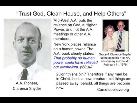 Clarence Snyder -- 1980 -- Hawaii -- 12 Steps of Alcoholics Anonymous