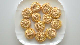 """Творожное печенье """"Розы"""" с меренгой. Просто, красиво, вкусно"""