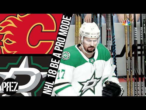 NHL 18 Be A Pro - Calgary Flames vs Dallas Stars Ep.67
