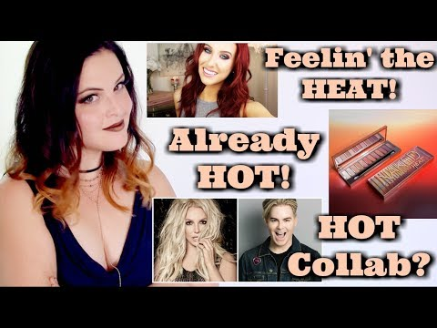What's Up in Makeup NEWS! | Urban Decay Naked Heat, Jaclyn's Hot Water, Too Faced Collab w/Britney?
