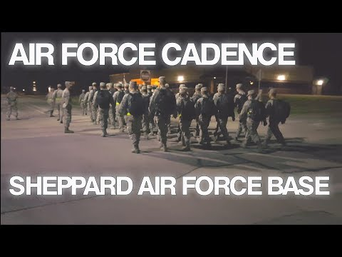 Air Force Cadence | Sheppard Air Force Base | Swing Shift