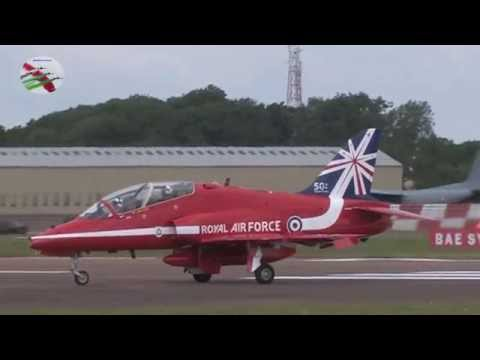 Royal International Air Tattoo Arrivals Part 1 2014 With Full ATC - Airshow World