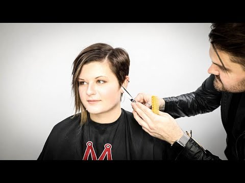 Asymmetrical Pixie Haircut Tutorial