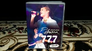 Unboxing Rihanna - DVD 777 Tour Live At London (FAN MADE)